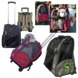 Rolling Pet Carrier Backpack