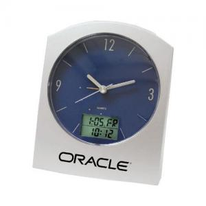 Global Desk Alarm Clock with Time Zone Display