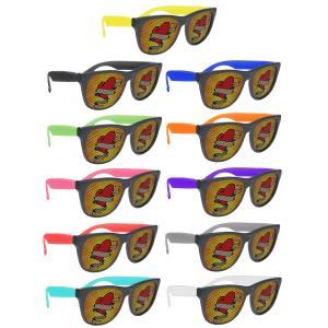 Imprinted Lens Sunglasses