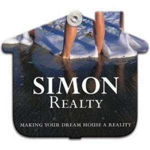 House Shaped Window Sign with Suction Cup