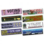 Magnetic Bumper Sign Sticker