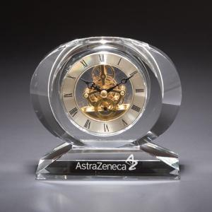 Gear Clock with Crystal Base
