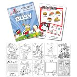 Activity Coloring Book 5.5 x 8.5
