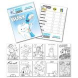 5.5 x 8.5 Dentist Themed Activity Coloring Book