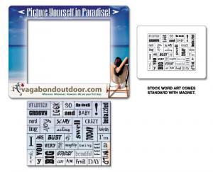 Magna-Phrase Picture Frame Magnet