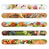 Food/Culinary/Cooking Themed Full Color Nail File