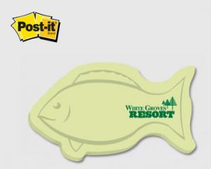 Fish Shaped Post It Notes
