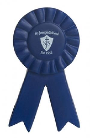 Blue Ribbon Shaped Stress Reliever