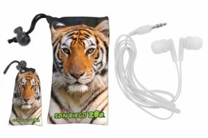 Full Color Microfiber Pouch W/ Ear Buds