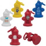 Fire Hydrant Shaped Pet Waste Bag Dispensers