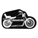Motorcycle Shaped Jar Opener