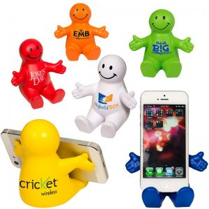 Smile Guy Stress Reliever and Cell Phone Holder
