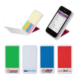 Cell Phone Stand with Sticky Notes/Flags