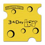 Swiss Cheese Shaped Jar Opener