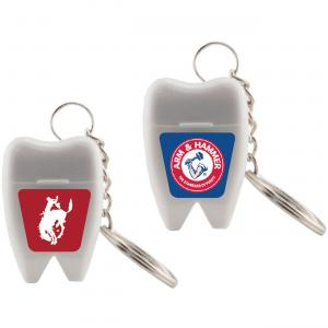 Dental Floss Keychain
