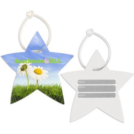 Star Shaped Luggage Tag