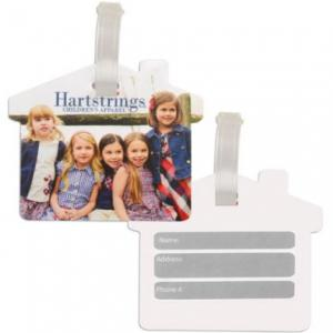 House Shaped Luggage Tag