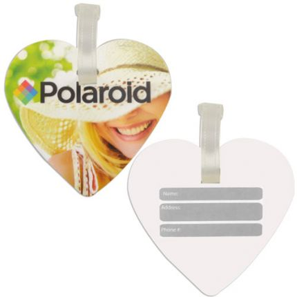 Heart Shaped Luggage Tag
