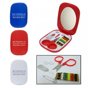 Mini Sewing Kit with Mirror