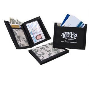 Digital-Camo Velcro Wallet