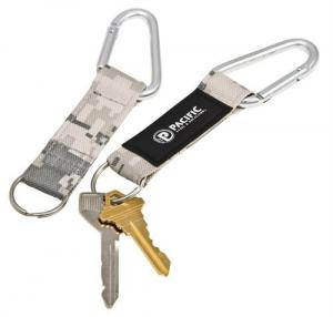 Digital Camo Key Tag with Carabiner and Keyring