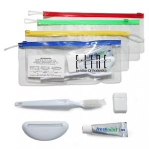 Dental Kit with Colorful Zipper
