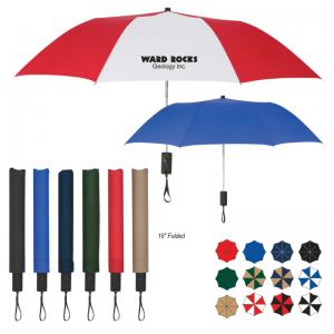 "44"" Auto Open Folding Umbrella"
