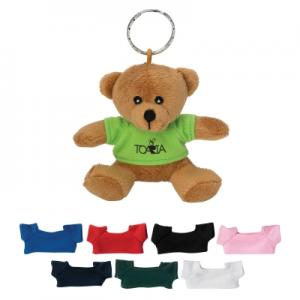Wild Mini Bear Key Chain with T Shirt