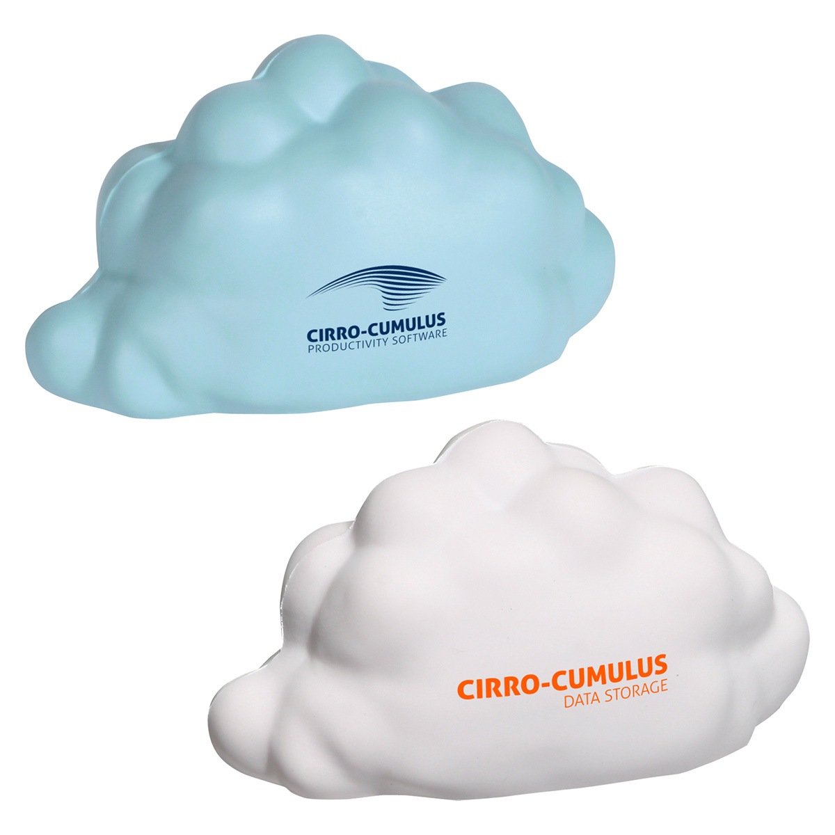 Cloud Shaped Stress Reliever