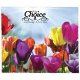 Spring Flower Theme Microfiber Cleaning Cloth