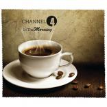 Coffee Theme Microfiber Cleaning Cloth