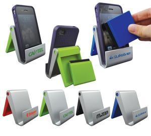 Unique Device Holder With Detachable Microfiber Strip