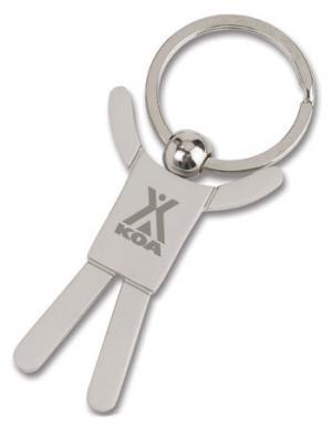 Shiny Stick Figure Keychain