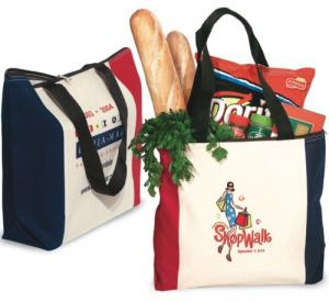10 oz. Convention Tote/Bag With Zipper
