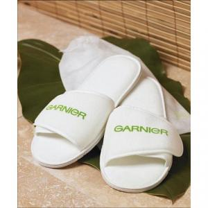 Adjustable Terry Velour Slippers