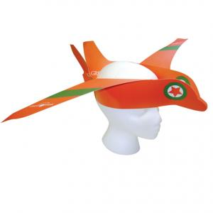 Airplane Themed Paper Hat with Logo 452f9b14e73