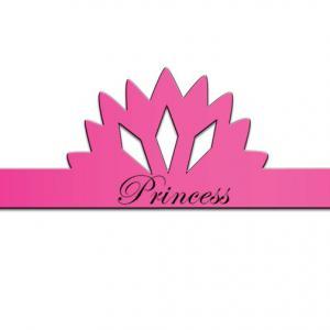 Princess Tiara Shaped Paper Hat