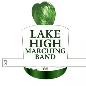 Custom Printed Marching Band Shaped Paper Hat