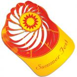 Kids Summer Sun Theme  Spiral Paper Hat