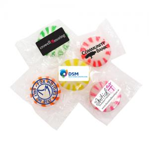 Individual Custom Wrapped Hard Candies
