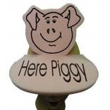 Pig Shaped Foam Visor