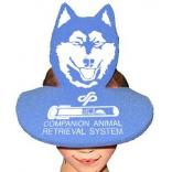 Dog Head Shaped Foam Visor