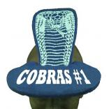 Cobra Shaped Foam Visor