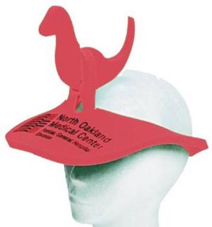 Dinosaur Shaped Foam Visor