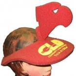 Eagle Head Shaped Foam Visor