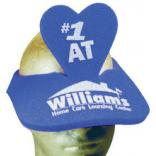 Heart Shaped Foam Visor