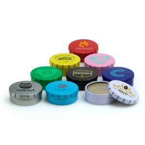 Snap Tin Lip Balm Container