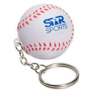 Baseball Key Chain Stress Reliever
