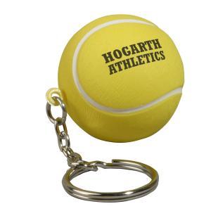 Tennis Ball Key Chain Stress Reliever