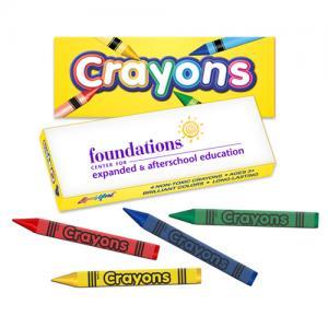 4 Pack Kids Crayons